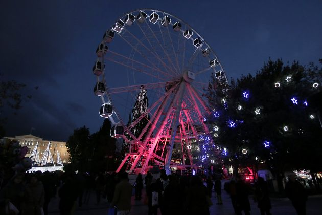 Ferris Wheel at Syntagma Square
